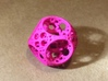 Apollonian Spherocube 3d printed Pink Strong & Flexible Polished