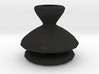 Chess Piece with 1/4 sphere 3d printed