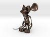 Dirty Rat - Standing (NoWhiskers) 3d printed