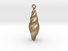 shell earring 2 3d printed