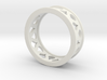 Droplet Ring 3d printed