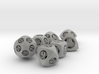 Overstuffed Dice Set with Decader 3d printed