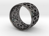 geometric ring 3 3d printed