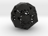 48-side dice (hollow) 3d printed
