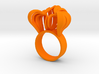 Pumpkin Ring Size 8 3d printed