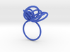 Flora Ring A (Size 8) 3d printed