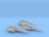 Corvan T-8 Light Fighter Wing 1/270 3d printed