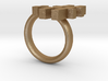 Don't Tell Emoticon Ring :# 3d printed