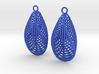 Interleaved Hopf Earrings 3d printed