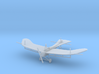 Rumpler Taube (with struts for rigging) 1:144th Sc 3d printed