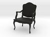 1:24 French Chair (Not Full Size) 3d printed