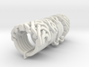 Ring set 2 Weave-Six Cross-Rings Holistic-Ri 3d printed