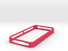 Ruler Bumper for iPhone 4 4s 3d printed