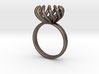 Magnetic Pearl Ring Size 6 3d printed