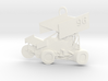 Sprint Car Ornament/Pendant 3d printed