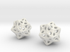 biostar earrings 3d printed