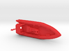 Rigid Inflatable Boat (1:148) 3d printed