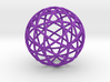 Star Cage: Sacred Geometry 12 Circles 40mm 3d printed