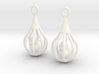 Ducks - Earrings 3d printed