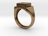 Play Button Ring 3d printed