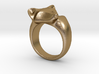 Fox Ring (size 7) 3d printed