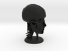 "Human Skull Head - 4"" tall 3d printed"