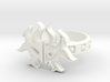 Magic: The Gathering Rakdos Ring(US Size12) 3d printed