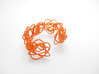 Sprouted Spirals Cuff (Messy) 3d printed