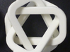 female/male Borromean rings 3d printed If one ring is broken, the others will fall apart.