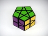 Fractured Prism Puzzle 3d printed Green Side