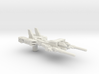 SixShot in Weapon Mode 5mm Weapon (2.5 inch) 3d printed