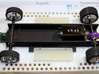 NWP2 962 3d printed Assembled chassis - shown as example - parts are not included - only black chassis part