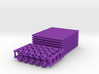 64-Tetrahedron Cube Half-pack #color 3d printed
