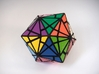 Fractured Cube Puzzle 3d printed Vertex Type 1