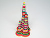 Rainbow Stalagmite - imaginary rock collection 3d printed