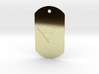 jor-el kandorian dog tag double sided 3d printed