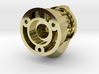 Herringbone Pinion Assembly for Linear Encoder 3d printed
