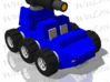 Target Master Roller 3d printed vehicle mode