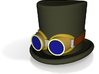 5cm D & R - Top Hat & Goggles - coloured 3d printed Add a caption...
