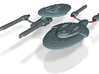 USS Hamilton Set of 2 (Smaller) 3d printed