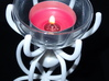 Heart in a cage tea light holder 3d printed