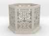 Islamic Geometric Candle Lantern. 3d printed