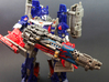 Tri-barrel Blaster for Evasion Optimus 3d printed