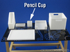 Office: Pencil Cup 1:12 scale 3d printed