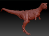 Carnotaurus 1/72 - Standing 3d printed Zbrush Render of sculpt