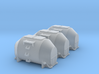 Efkr Dry Bulk Container - Nscale 3d printed