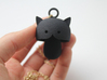 Kitty cat Pendant 3d printed