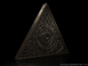 Triangle of Light 1/1 Scale 3d printed Dynamically Lit render. Geometry of the model may vary