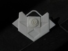 Atlantean Medallion of Nur Ab Sal 3d printed As printed in white for painting