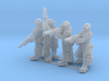 Female Stealth Gang with Laser Rifles 3d printed